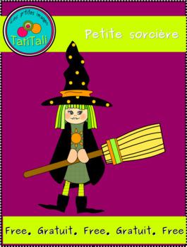 Little witch: free clip art - Petite sorcière: clip art gratuit