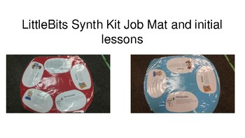 LittleBits Synth Kit Job Mat and initial Lesson