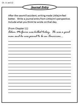Littlejim Student Novel Study Packet Written by Gloria Houston