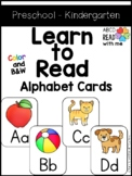Littles Learn Letters Alphabet Flash Cards