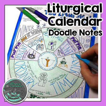 Liturgical Calendar Doodle Notes