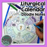 Liturgical Calendar Doodle Notes