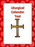 Liturgical Calendar Test