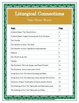 Liturgical Connections: Bringing the Liturgy to Life