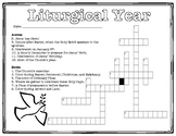 Liturgical Year Crossword Puzzle