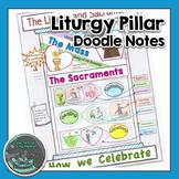Liturgy Pillar Doodle Notes