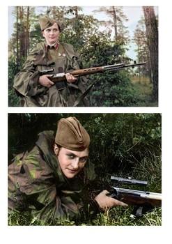 Liudmyla Mykhailivna Pavlychenko World War Two Sniper Word Search