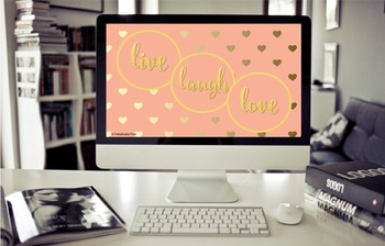 Live, Laugh, Love Desktop Wallpaper