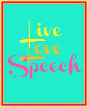 Live Love Speech