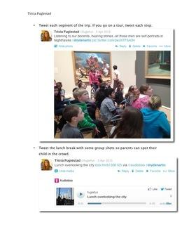 Live Tweet your Field Trip with Twitter, Vine, & AudioBoo