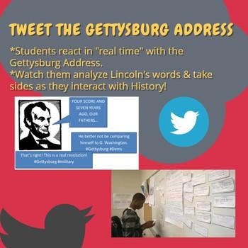 Gettysburg Address Live Tweeting Project