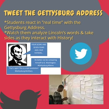 Gettysburg Address Live Tweeting Project