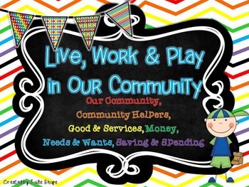 Live, Work & Play in Our Community {Community, Community H