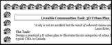 CGC1P CGC1D Liveable Communities Unit Culminating Task