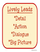 Lively Leads Posters and Practice
