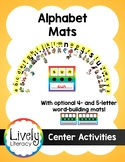 Lively Literacy Alphabet Display & Word Building Mats