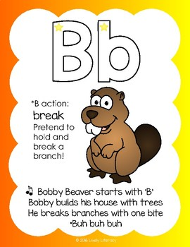 Lively Literacy Early Literacy Songs & Actions Posters