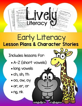 Lively Literacy Lessons & Stories