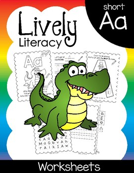 Lively Literacy Letter/Sound of the Week Phonics Worksheet