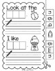 Lively Literacy Letter/Sound of the Week Phonics Worksheets - G