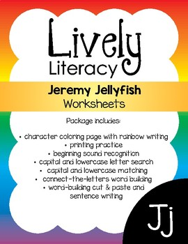 Lively Literacy Letter/Sound of the Week Phonics Worksheets - J