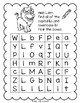 Lively Literacy Letter/Sound of the Week Phonics Worksheets - L