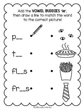 Lively Literacy Letter/Sound of the Week Phonics Worksheets - Long I