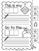 Lively Literacy Letter/Sound of the Week Phonics Worksheets - T