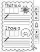 Lively Literacy Letter/Sound of the Week Phonics Worksheets - W