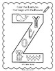 Lively Literacy Letter/Sound of the Week Phonics Worksheets - Z (zee)