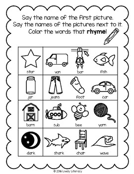Lively Literacy Letter/Sound of the Week Phonics Worksheets - ar