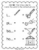 Lively Literacy Letter/Sound of the Week Phonics Worksheets - nk