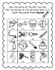 Lively Literacy Letter/Sound of the Week Phonics Worksheets - or