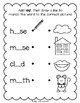 Lively Literacy Letter/Sound of the Week Phonics Worksheets - ow