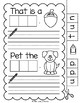 Lively Literacy Letter/Sound of the Week Phonics Worksheets - Short U