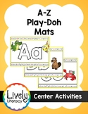 Lively Literacy Play-Doh Mats