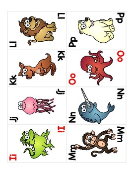 Lively Literacy Playing Cards Flash Cards
