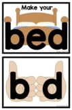 Lively Literacy Make Your Bed Posters (Letter-size) - for
