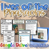 Lives of the Pharaohs {Digital AND Paper} Distance Learning