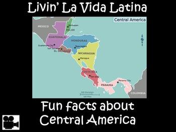 Livin' La Vida Latina – Fun Facts about Central America in English