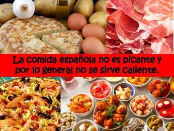 Livin' La Vida Latina – Fun Facts about Spain Presentation in Spanish