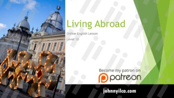 Living Abroad lvl 10 (Distance Learning)