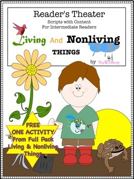 Living and nonliving things free one activity from full pack tpt living and nonliving things free one activity from full pack ccuart