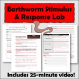 Living Earthworm Stimulus/Response Lab