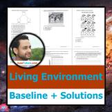 Living Environment Baseline + Student Solution Set, Biolog