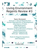 Living Environment Regents Review Packet 3 of 5