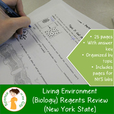 Living Environment Regents Review (New York State)