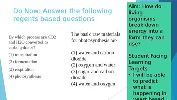 Living Environment Unit 2 ALL RESOURCES