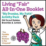 "Living ""Fair"" All-In-One Booklet - Girl Scouts My Promise,"