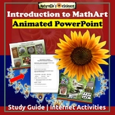Math Art - Geometry, Patterns in Nature PowerPoint | Distance Learning